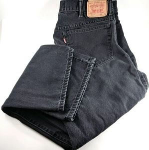 Levis 517 Jeans Mens 38 x 30 Dark Wash No Fraying